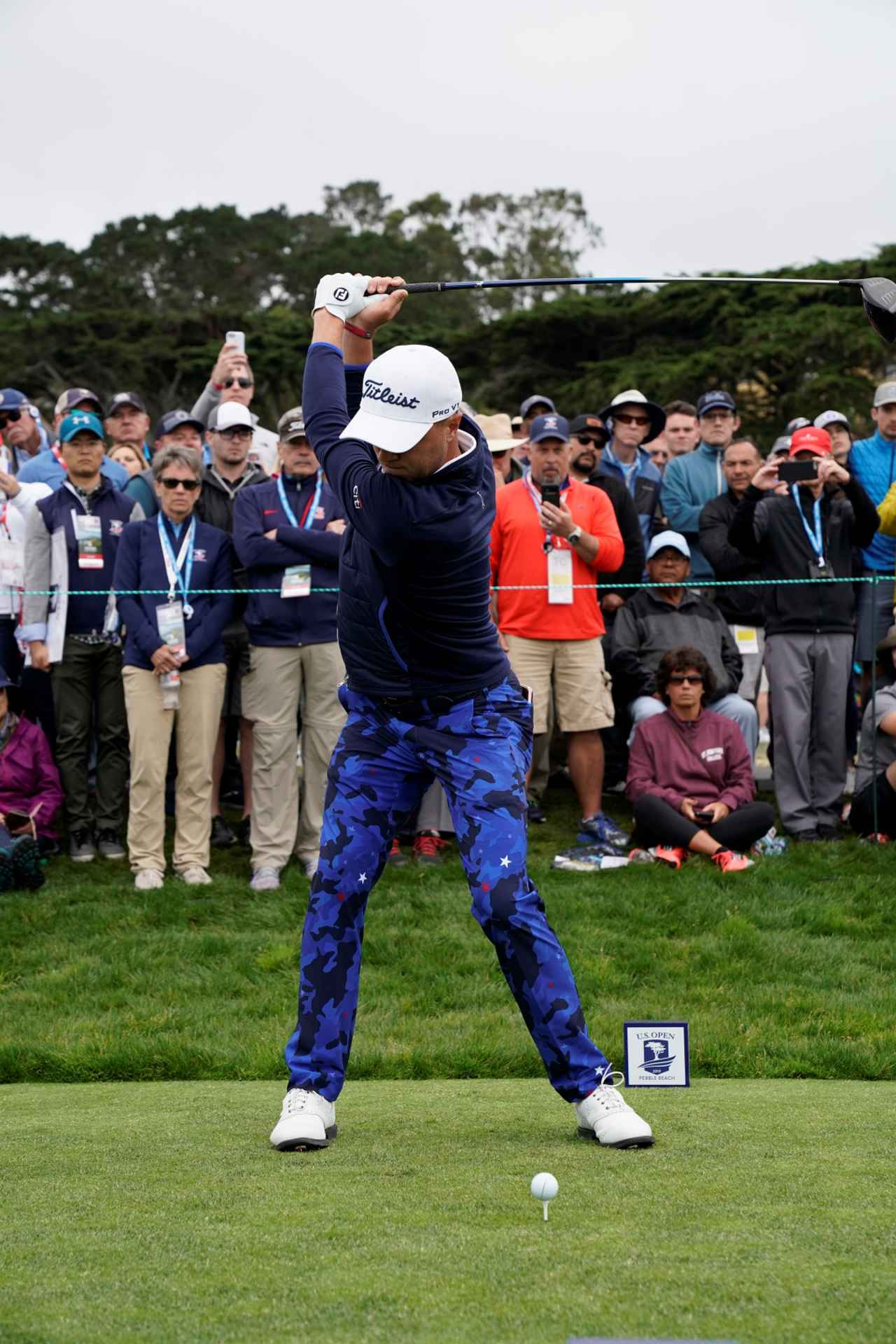 Images : 4番目の画像 - ジャスティン・トーマスのドライバー連続写真 - みんなのゴルフダイジェスト