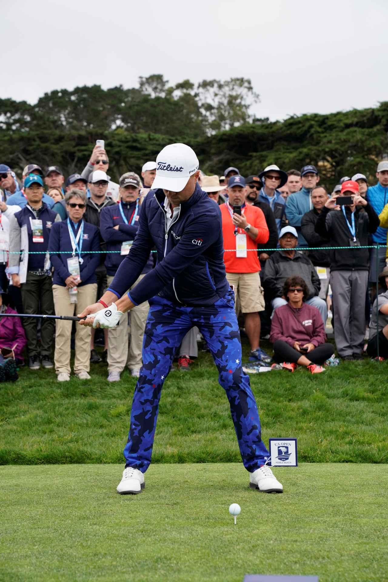 Images : 2番目の画像 - ジャスティン・トーマスのドライバー連続写真 - みんなのゴルフダイジェスト