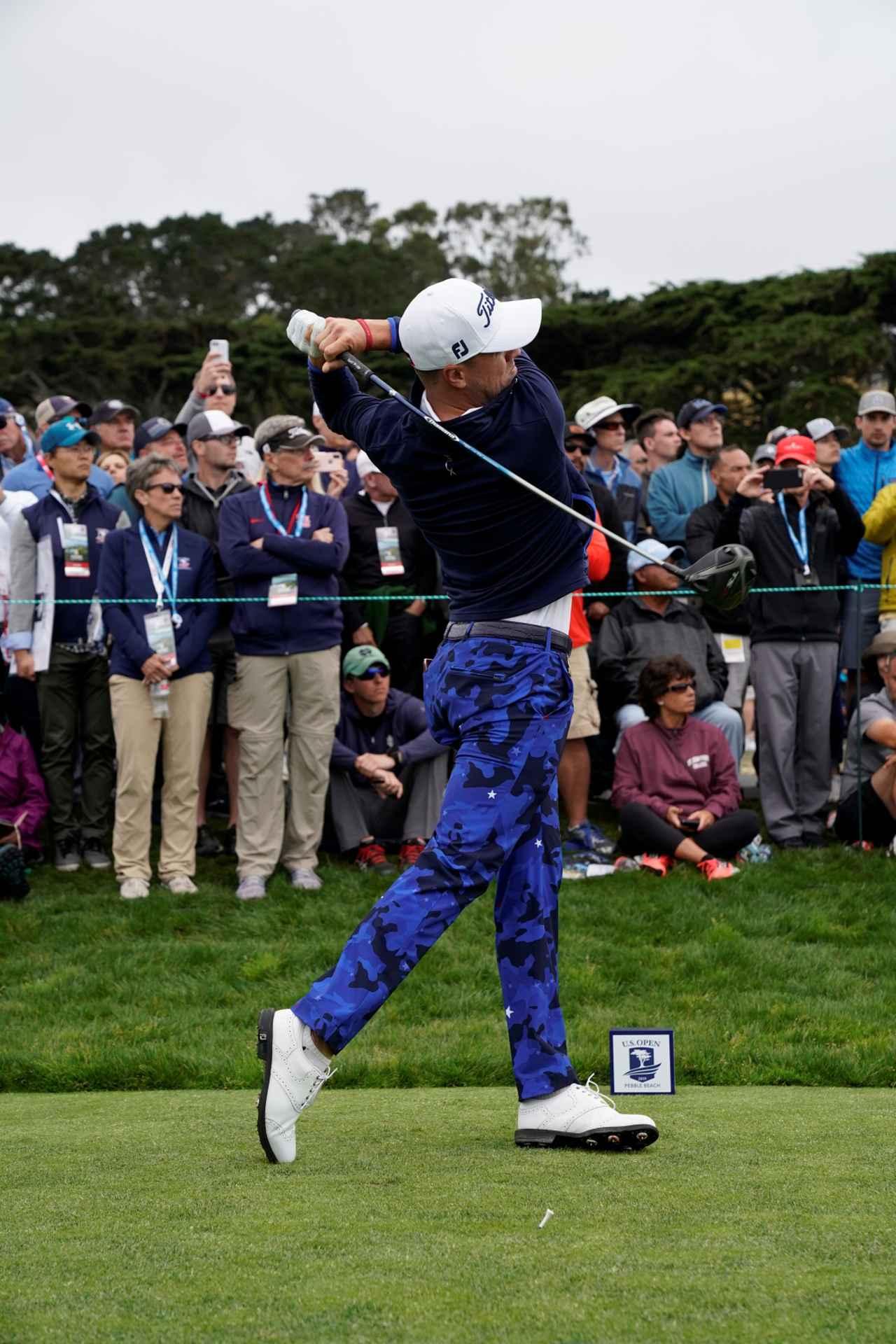 Images : 10番目の画像 - ジャスティン・トーマスのドライバー連続写真 - みんなのゴルフダイジェスト