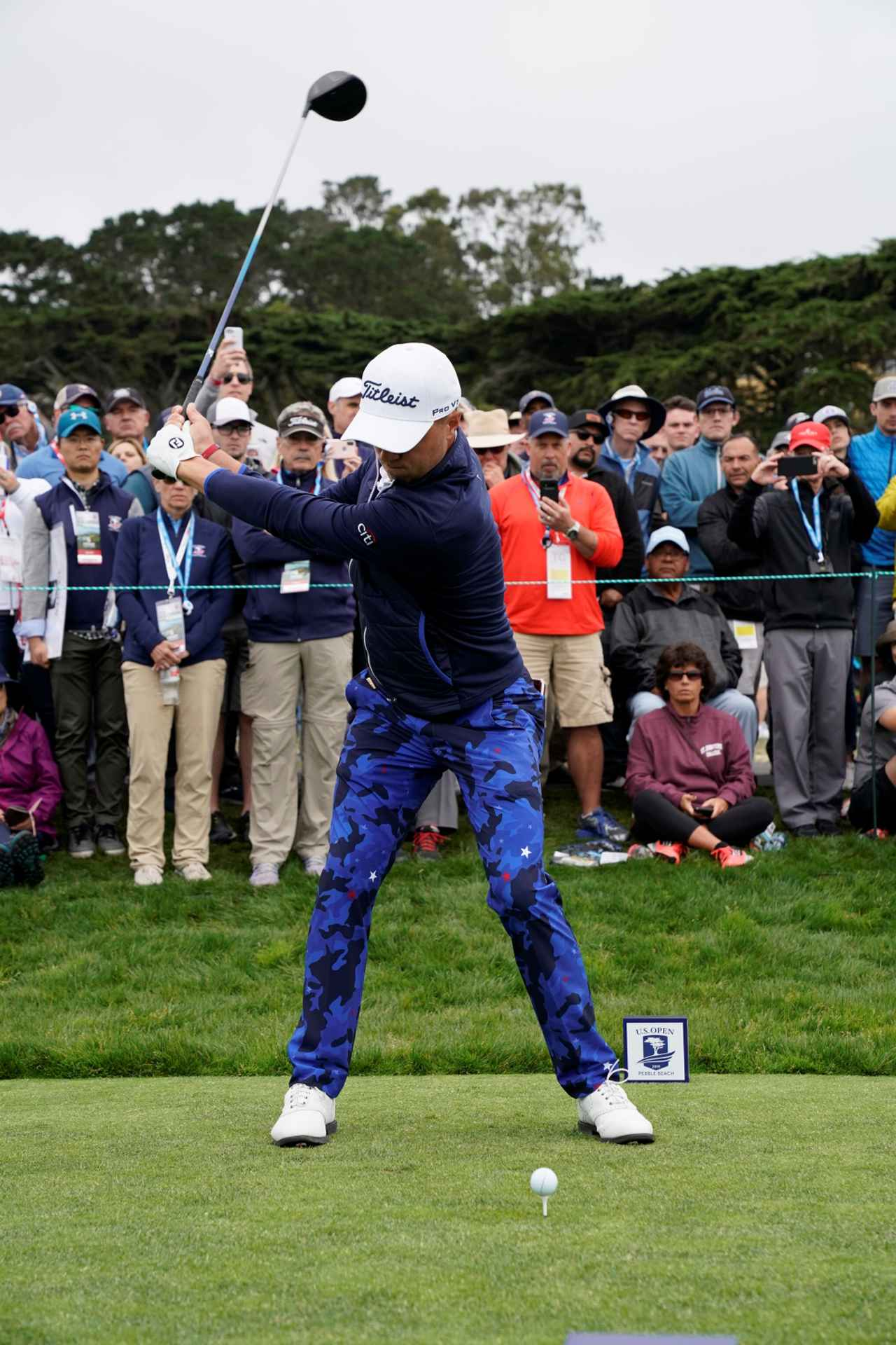 Images : 3番目の画像 - ジャスティン・トーマスのドライバー連続写真 - みんなのゴルフダイジェスト