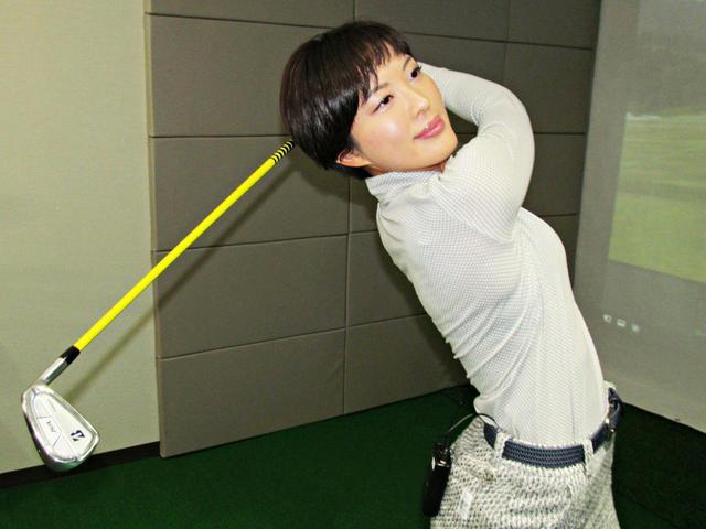 画像: 美女プロ・小澤美奈瀬がアイアンショットを安定させるコツを伝授!