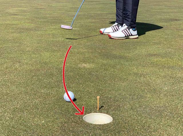 画像: フックだとこんなラインでカップに入るイメージ