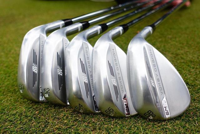 画像: 多くのゴルファーにマッチするようにソール形状を多数ラインナップしたタイトリスト「ボーケイSM8ウェッジ」のようなモデルも存在する