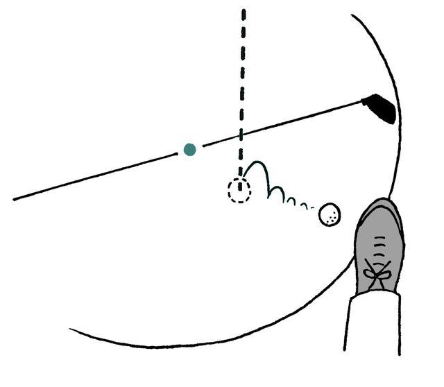画像: ドロップした球を故意に止めるのは無罰?それとも2打罰?