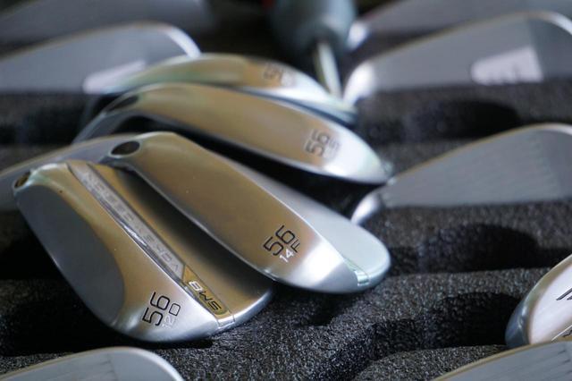 画像: ボーケイ・デザインSM8ウェッジは6種類のソールグラインドをラインナップし、様々なゴルファーのニーズに答えている(撮影/高梨祥明)