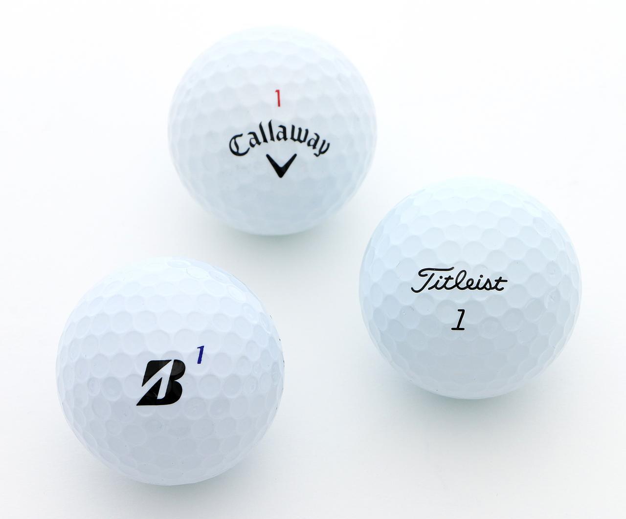 画像: 打感が柔らかいツアーボールの代表3モデルを打ち比べてみた