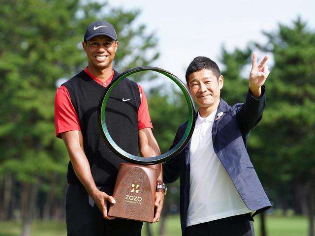 画像: ZOZOの創設者であり、日本発の米PGAツアー「ZOZOチャンピオンシップ」を開催し、ゴルフ界を盛り上げた