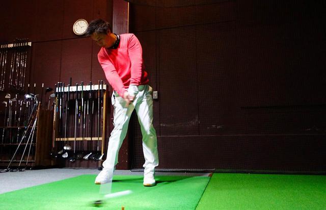 画像: プロゴルファー・堀口宜篤が試打し、データをフライトスコープで計測し5球打った平均で比較した