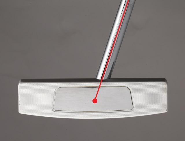 画像: センターシャフトはほぼシャフト軸線上に芯がある
