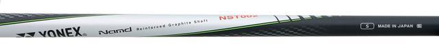 画像: 小倉が「ミートしやすい」と評価した純正シャフト「NST002」