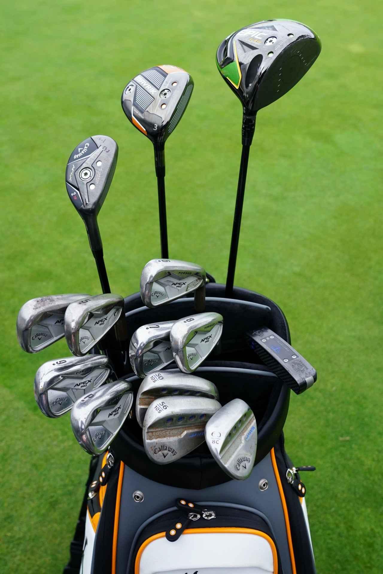 Images : 1番目の画像 - フランチェスコ・モリナリの14本 - みんなのゴルフダイジェスト