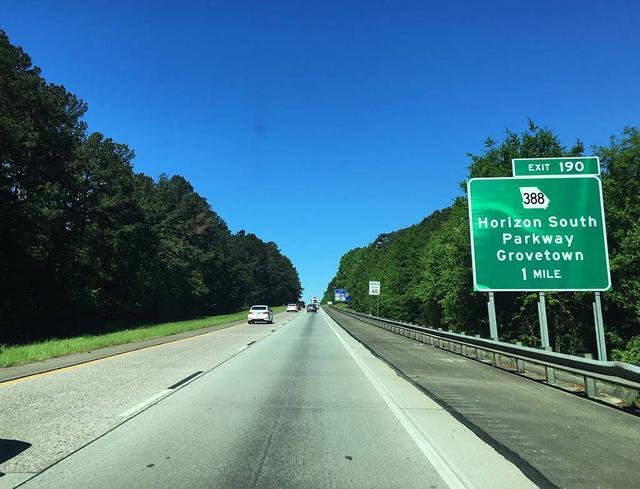 画像: アトランタとオーガスタをつなぐ20号線。本来ならば、今ごろハンドルを握っていたはずが……