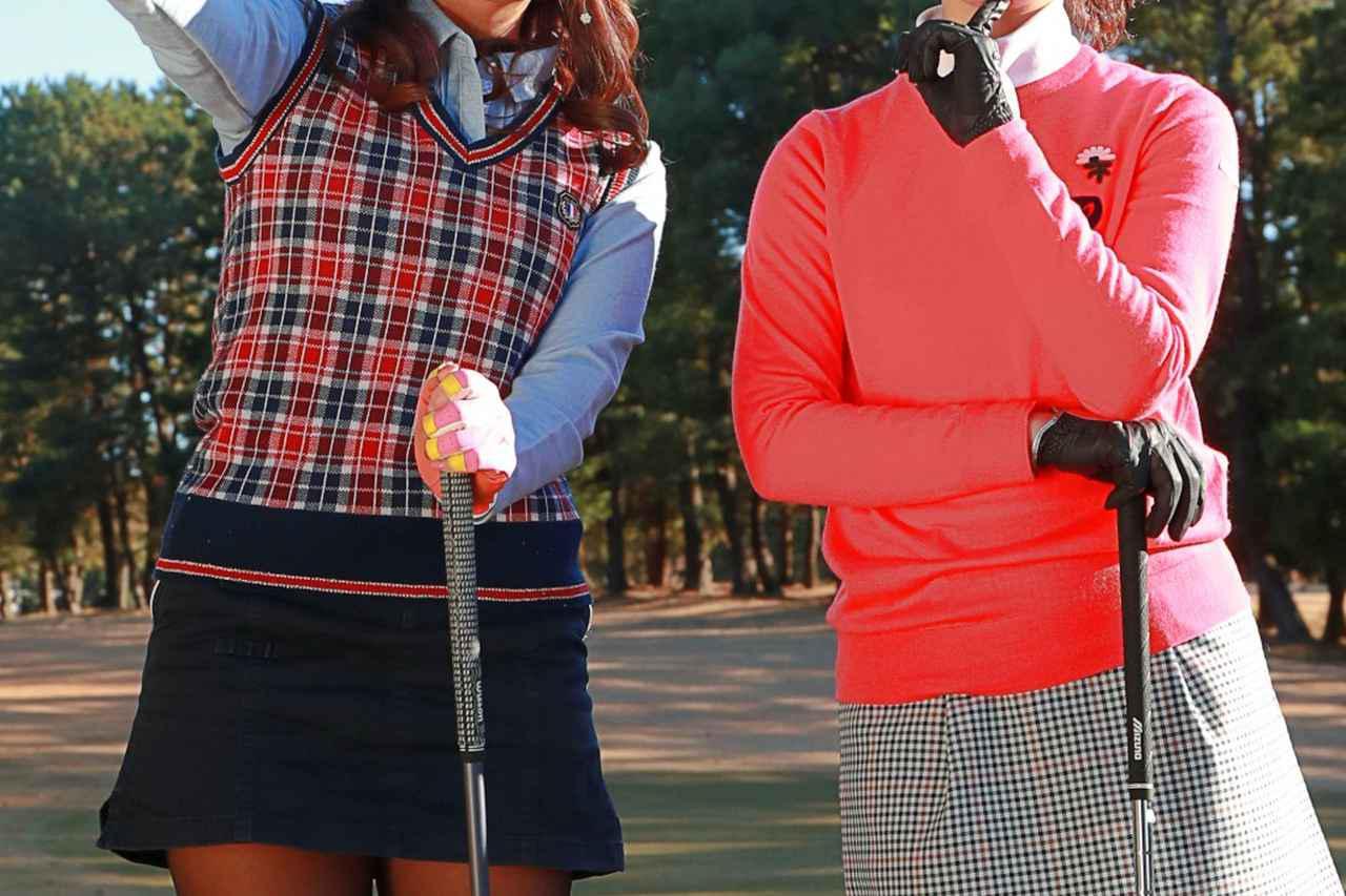 画像: 普段とは想像つかないゴルフウェアにギャップ萌えするゴルフ女子は少なくないはず(写真はイメージ)