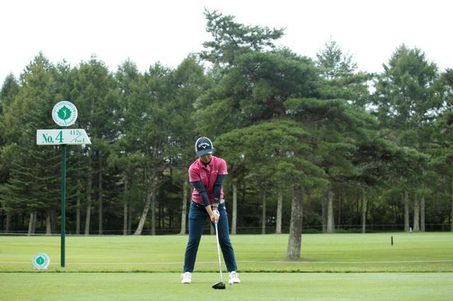 画像: 1番目の画像 - 田中瑞希のドライバー連続写真 - みんなのゴルフダイジェスト