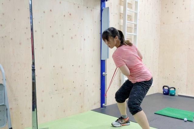 画像: 自宅にトレーニングルームを作り、トレーニングやスウィング改善に時間を使っているという