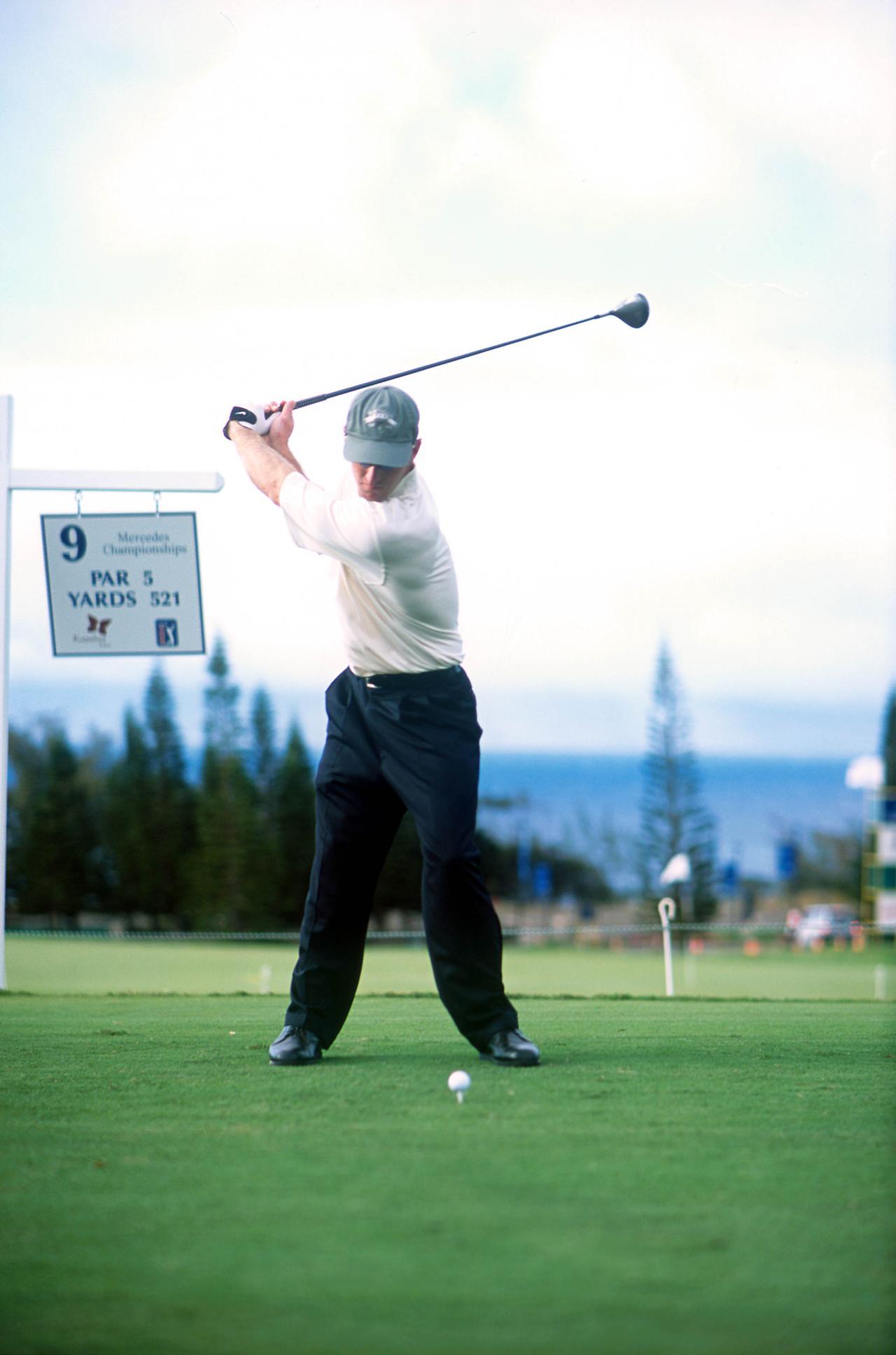Images : 4番目の画像 - デビッド・デュバル ドライバー正面連続写真 - みんなのゴルフダイジェスト