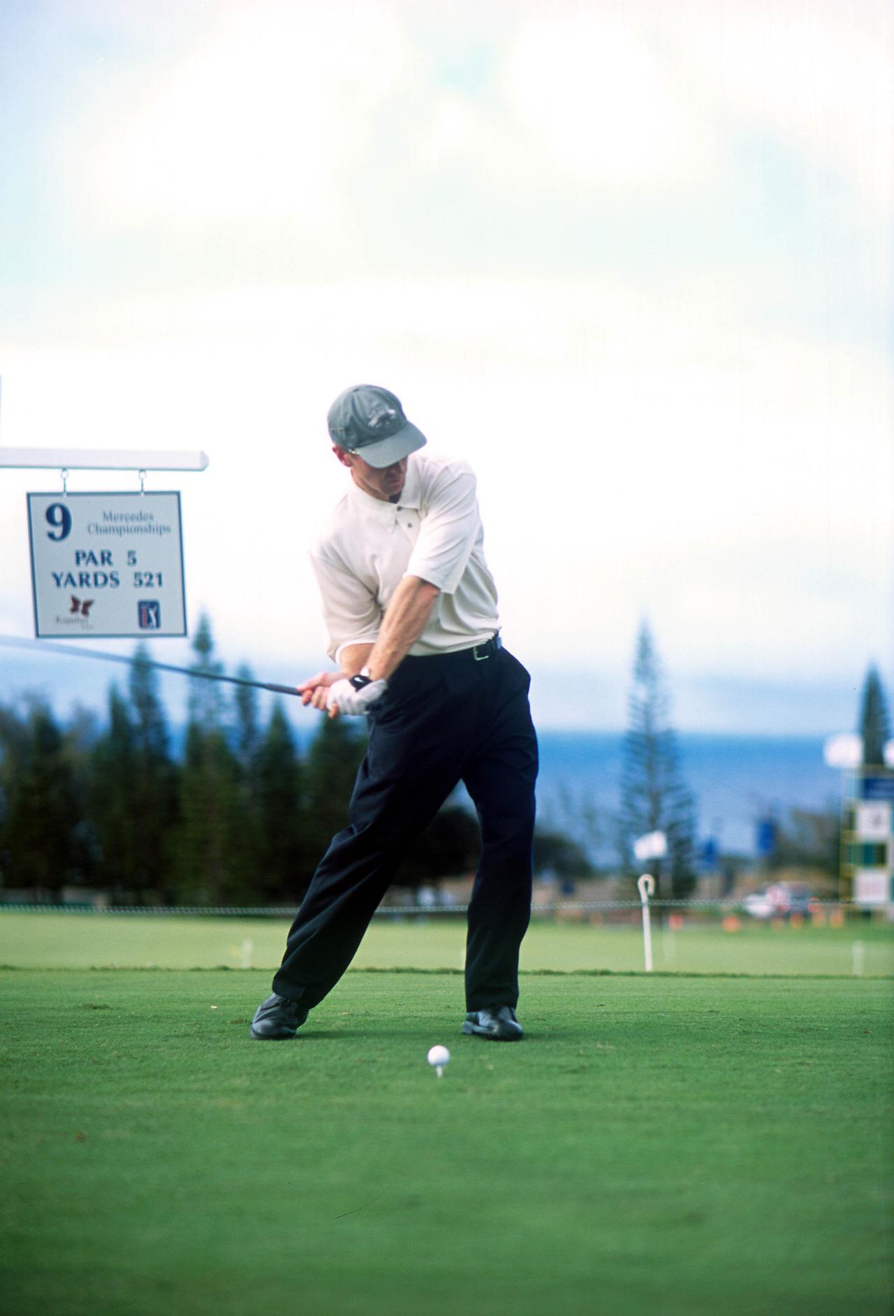 Images : 7番目の画像 - デビッド・デュバル ドライバー正面連続写真 - みんなのゴルフダイジェスト