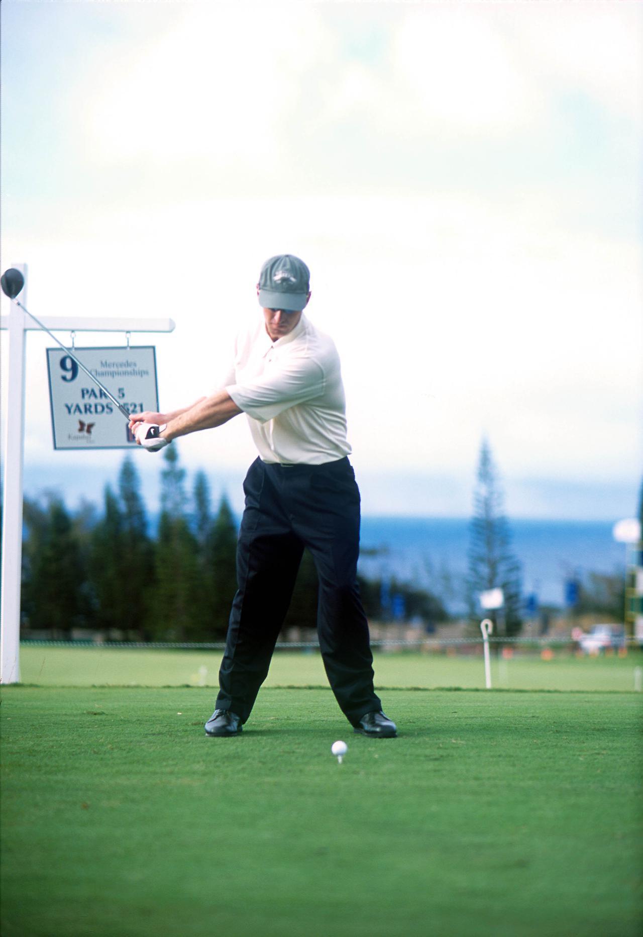 Images : 3番目の画像 - デビッド・デュバル ドライバー正面連続写真 - みんなのゴルフダイジェスト