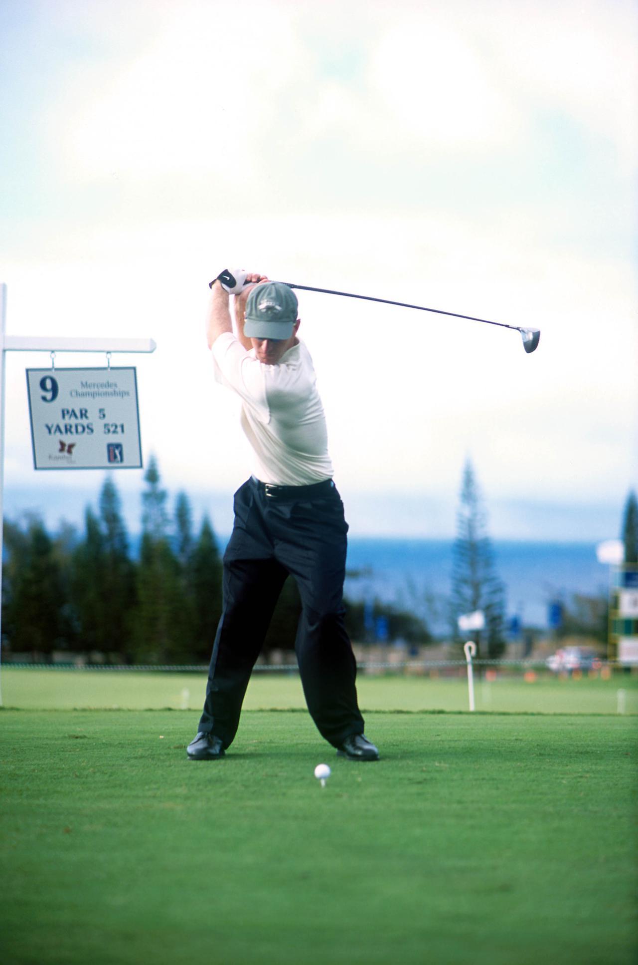 Images : 5番目の画像 - デビッド・デュバル ドライバー正面連続写真 - みんなのゴルフダイジェスト