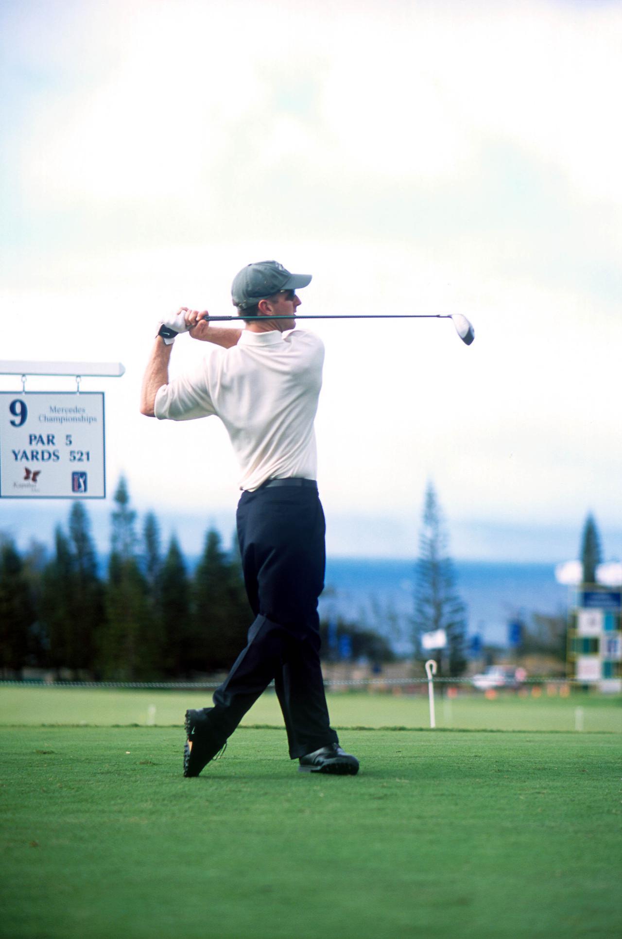 Images : 10番目の画像 - デビッド・デュバル ドライバー正面連続写真 - みんなのゴルフダイジェスト