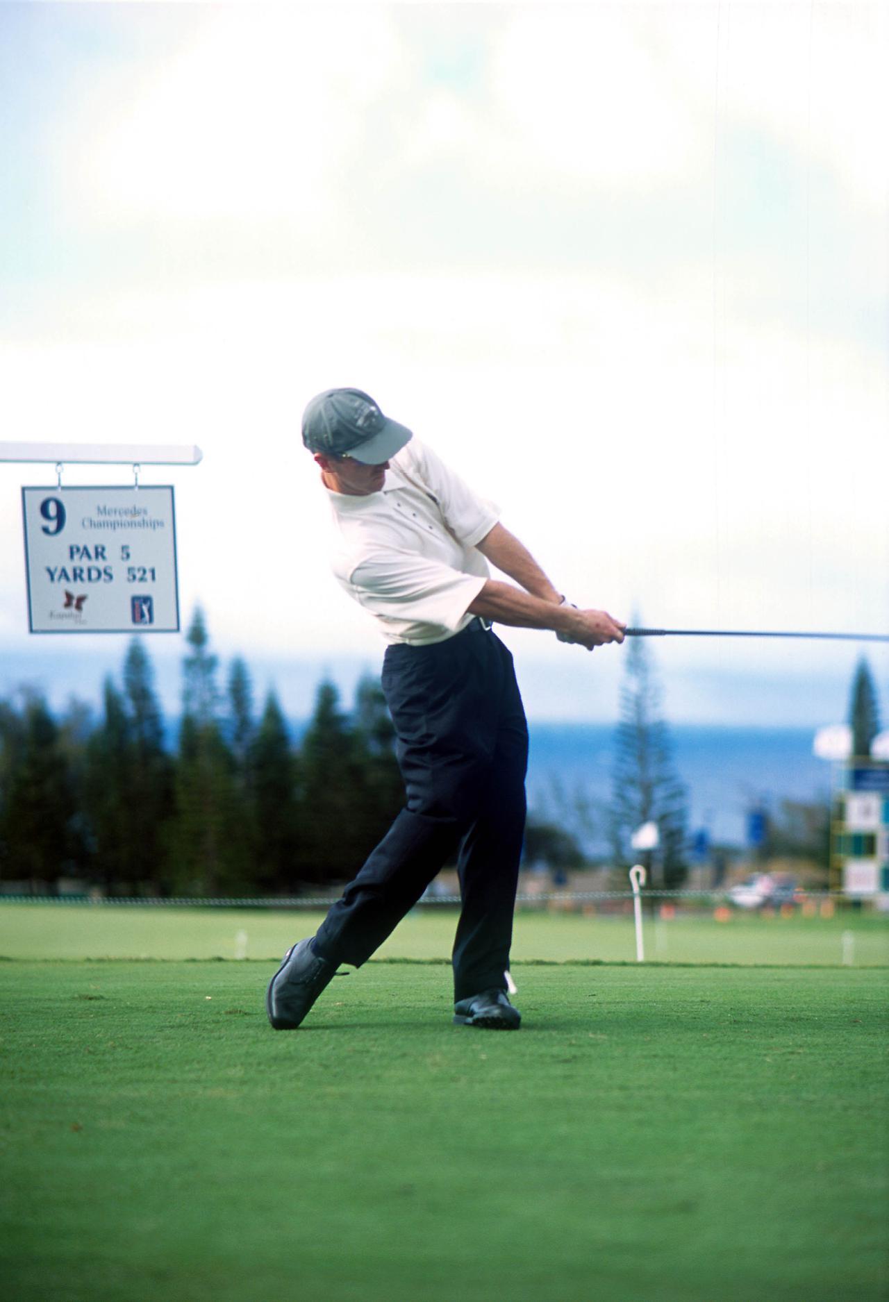 Images : 8番目の画像 - デビッド・デュバル ドライバー正面連続写真 - みんなのゴルフダイジェスト