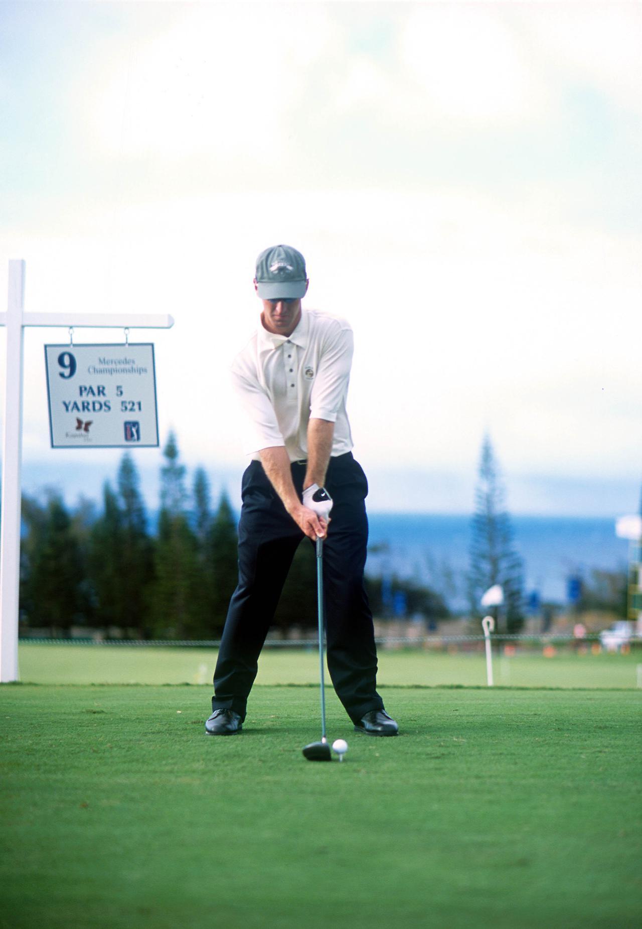 Images : 1番目の画像 - デビッド・デュバル ドライバー正面連続写真 - みんなのゴルフダイジェスト