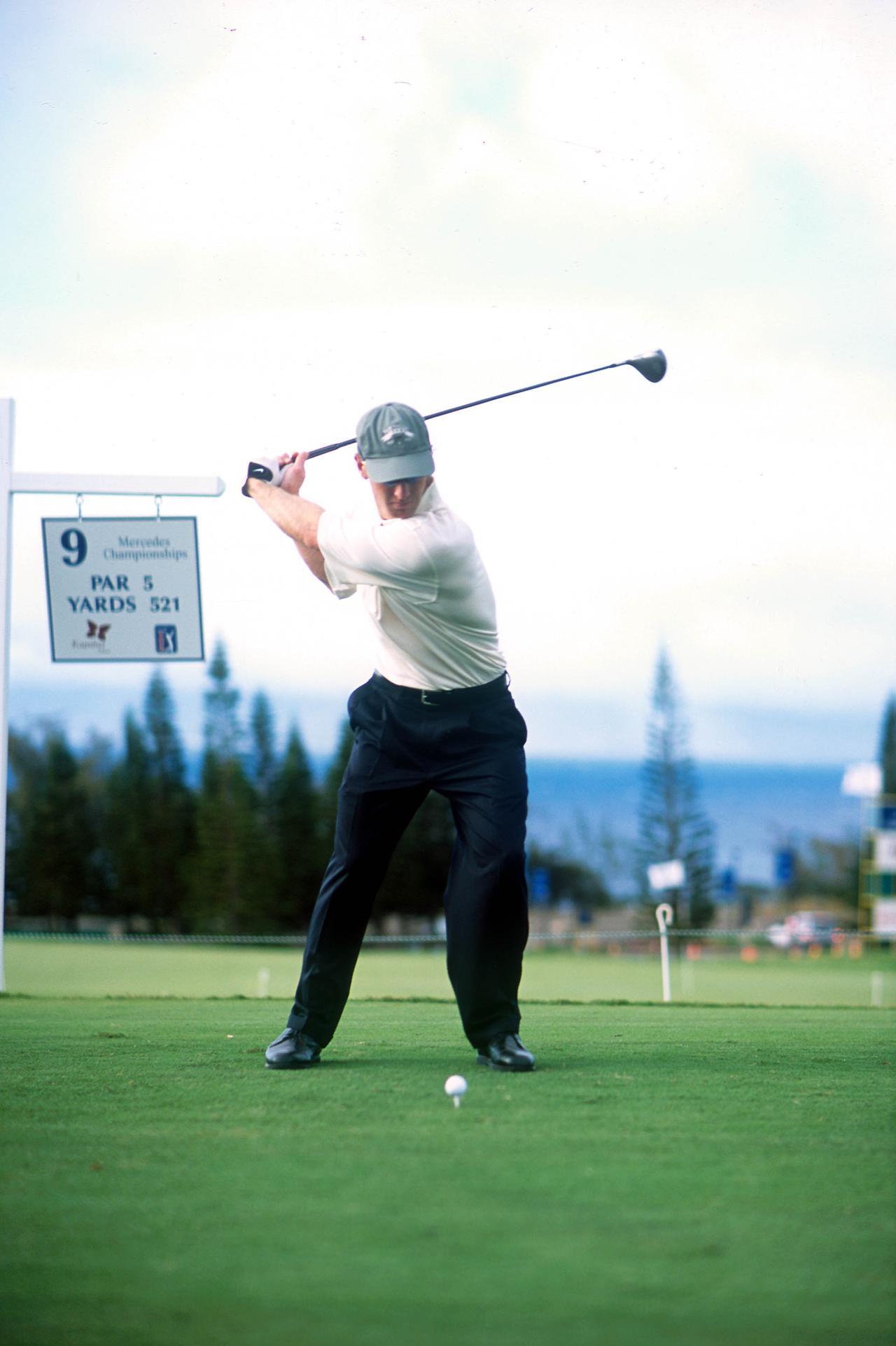 Images : 6番目の画像 - デビッド・デュバル ドライバー正面連続写真 - みんなのゴルフダイジェスト