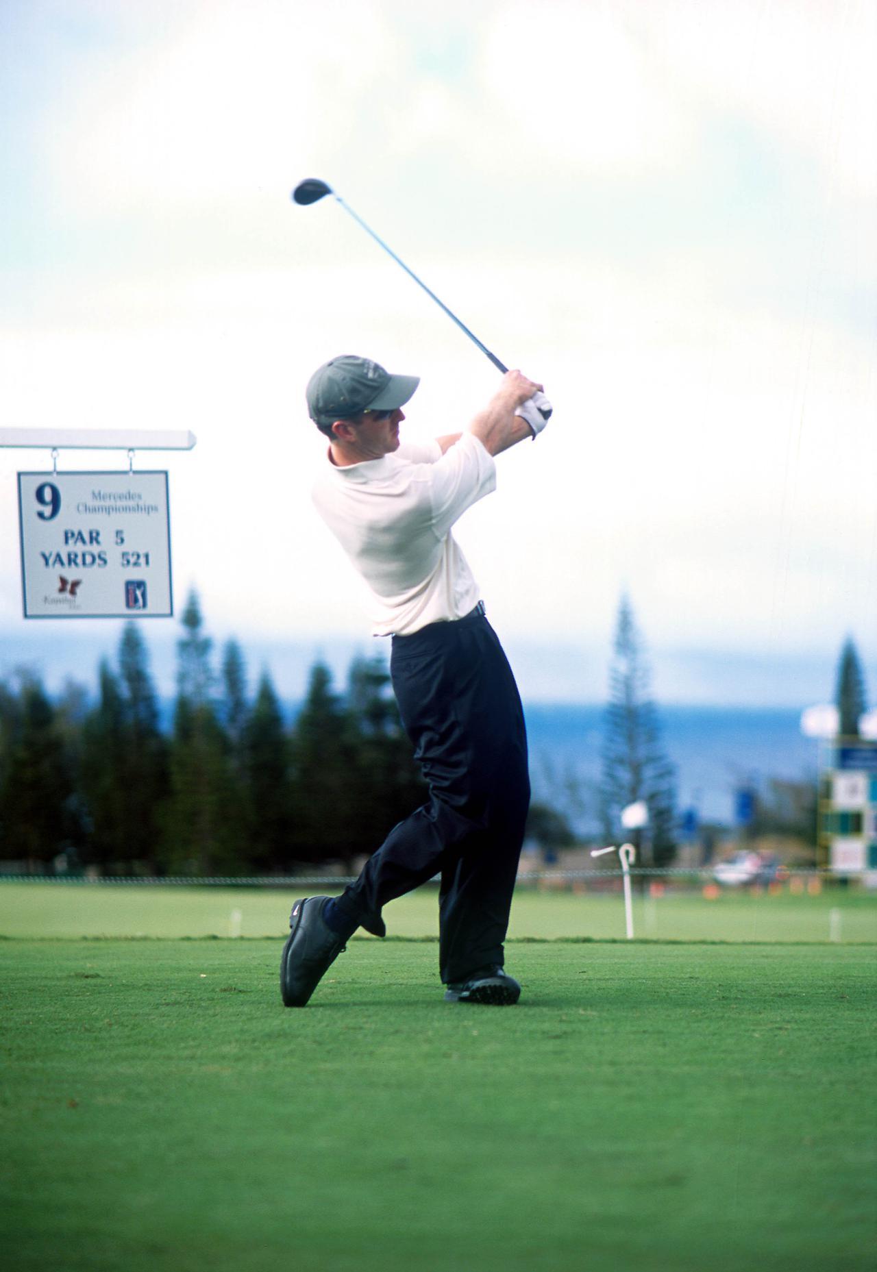 Images : 9番目の画像 - デビッド・デュバル ドライバー正面連続写真 - みんなのゴルフダイジェスト