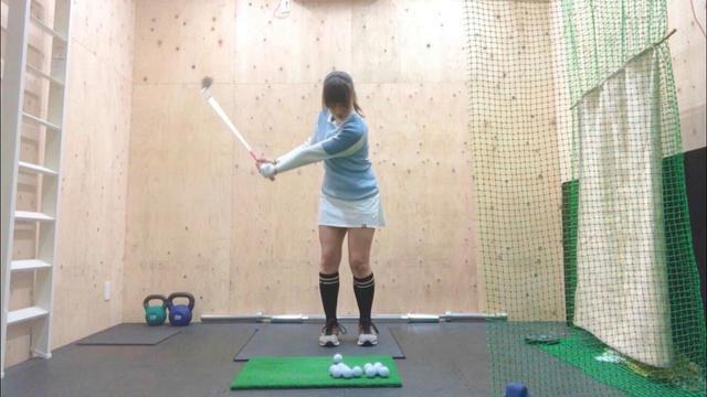 画像: 自宅にボールを打てる環境を作り、練習場に行くのは週1回と体調管理も万全だ
