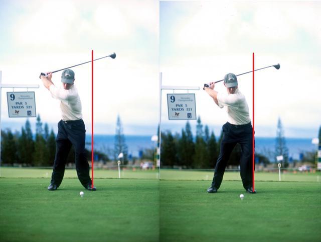 画像: 画像B ダウンで左への水平移動を多く使う(写真は2001年のメルセデス選手権)