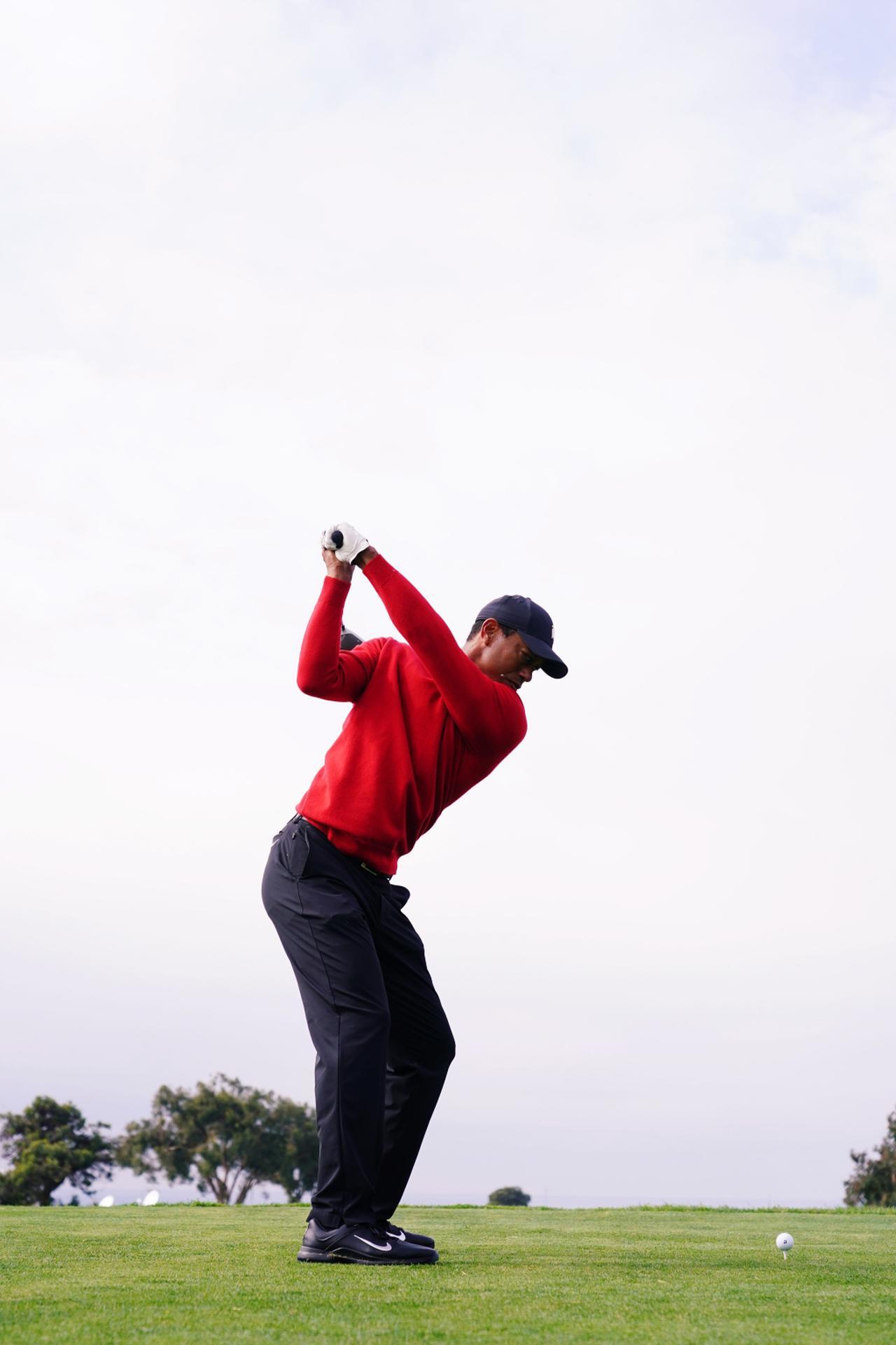 Images : 4番目の画像 - タイガー・ウッズのドライバー連続写真 - みんなのゴルフダイジェスト