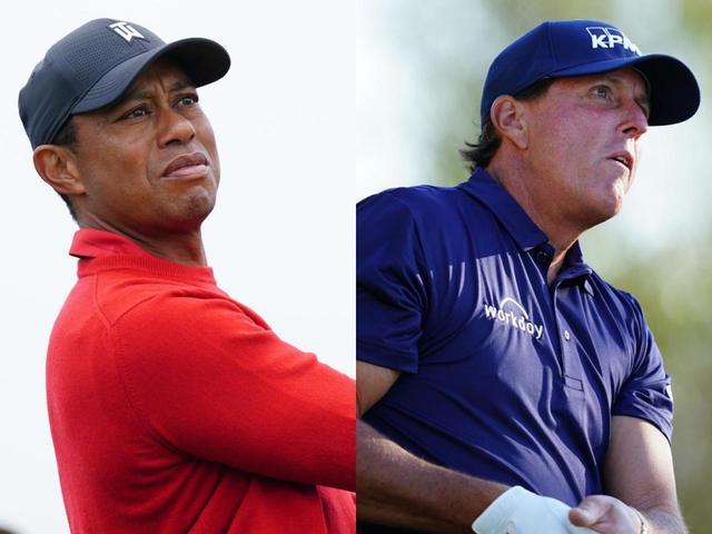 画像: タイガー・ウッズ(左)とフィル・ミケルソン(右)のザ・マッチが開催!第2弾では助っ人も参加するようだが!?