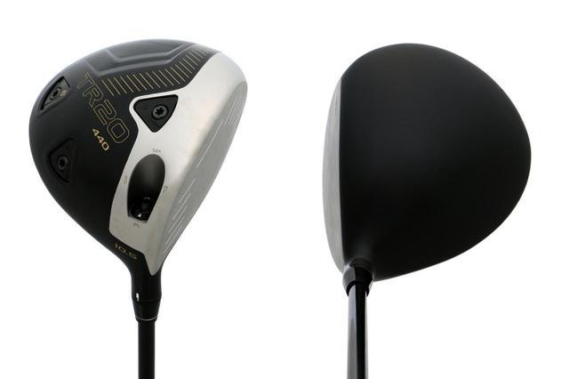 画像: 本間ゴルフ「TR20 440」。ヘッド体積は440㎤だ