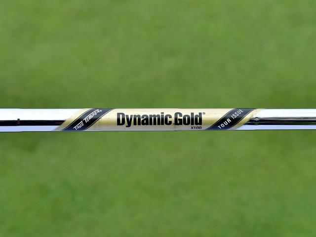 画像: 世界ランクトップ50のうち36人が、ダイナミックゴールドX100をはじめとする重量のあるスチールシャフトを好んで使用している(撮影/有原裕晶)