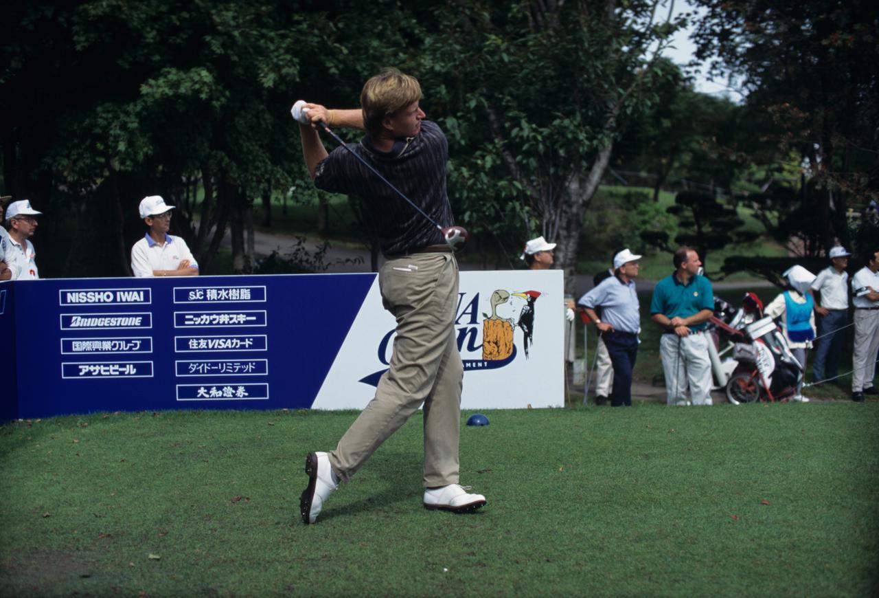 Images : 10番目の画像 - アーニー・エルスのドライバー連続写真 - みんなのゴルフダイジェスト