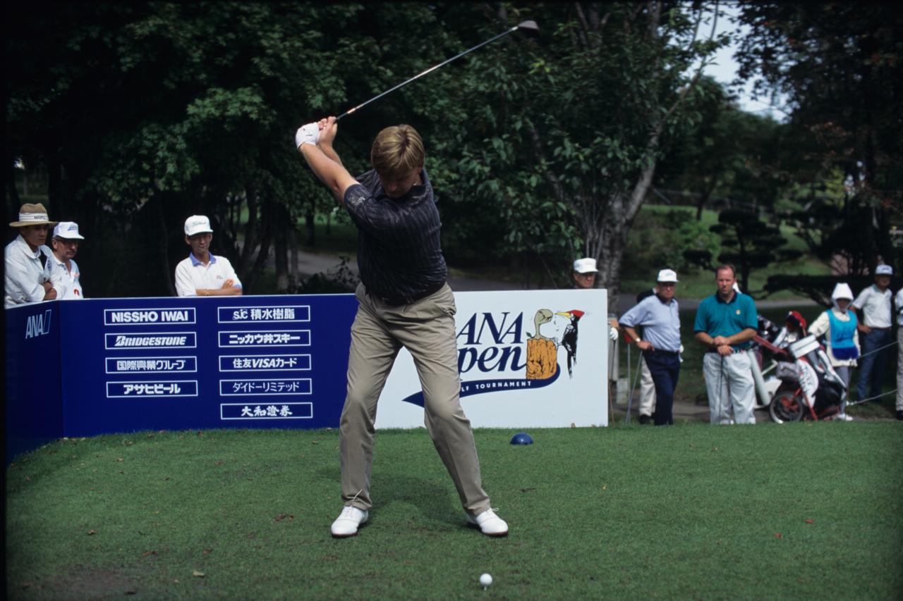 Images : 4番目の画像 - アーニー・エルスのドライバー連続写真 - みんなのゴルフダイジェスト