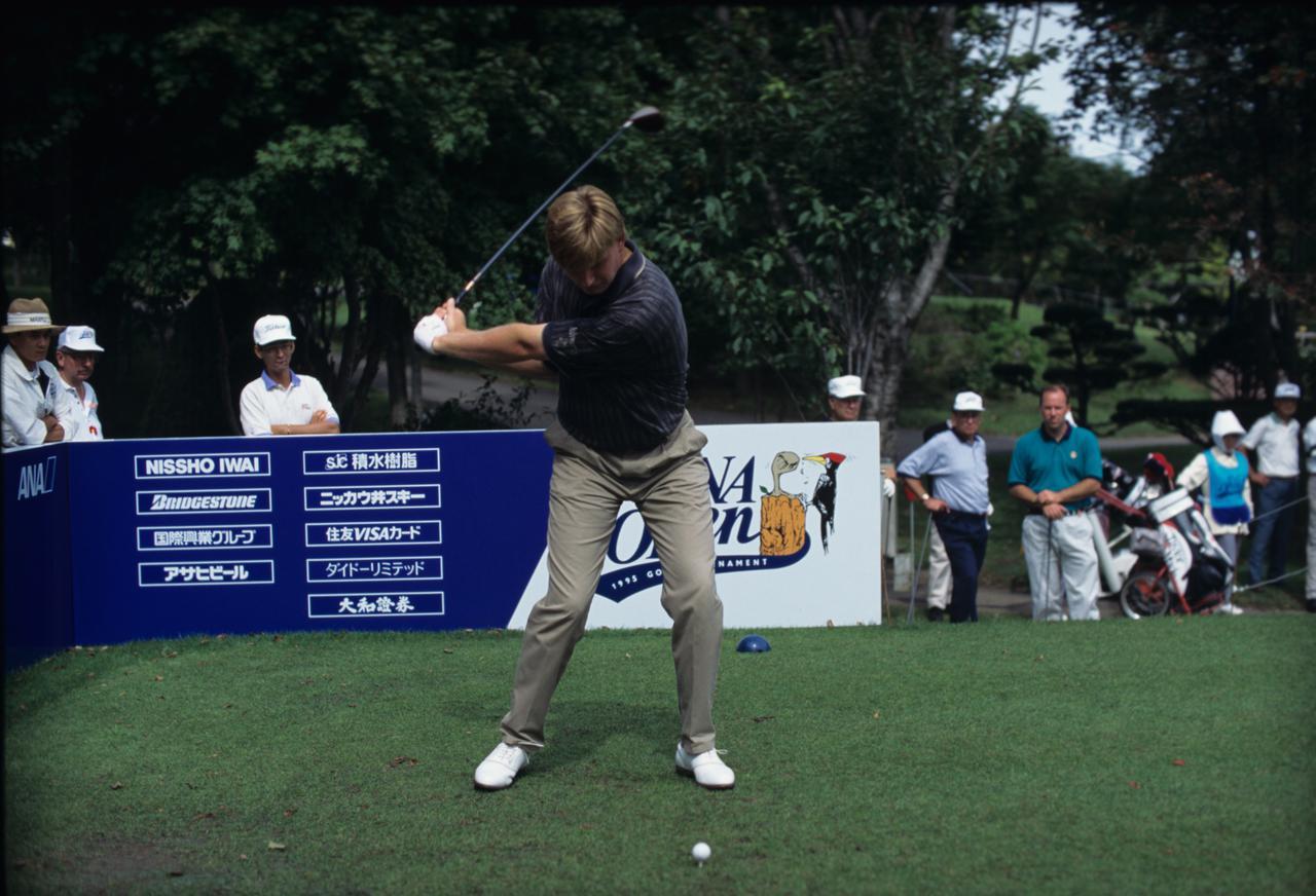 Images : 7番目の画像 - アーニー・エルスのドライバー連続写真 - みんなのゴルフダイジェスト