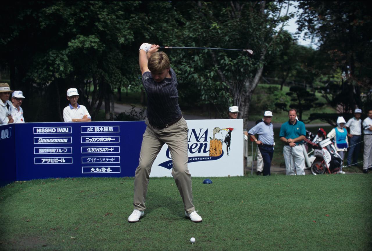 Images : 6番目の画像 - アーニー・エルスのドライバー連続写真 - みんなのゴルフダイジェスト