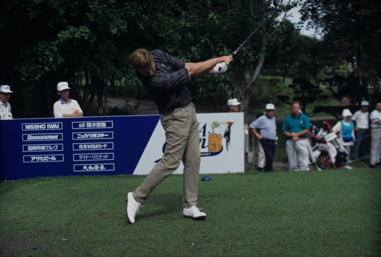 Images : 9番目の画像 - アーニー・エルスのドライバー連続写真 - みんなのゴルフダイジェスト