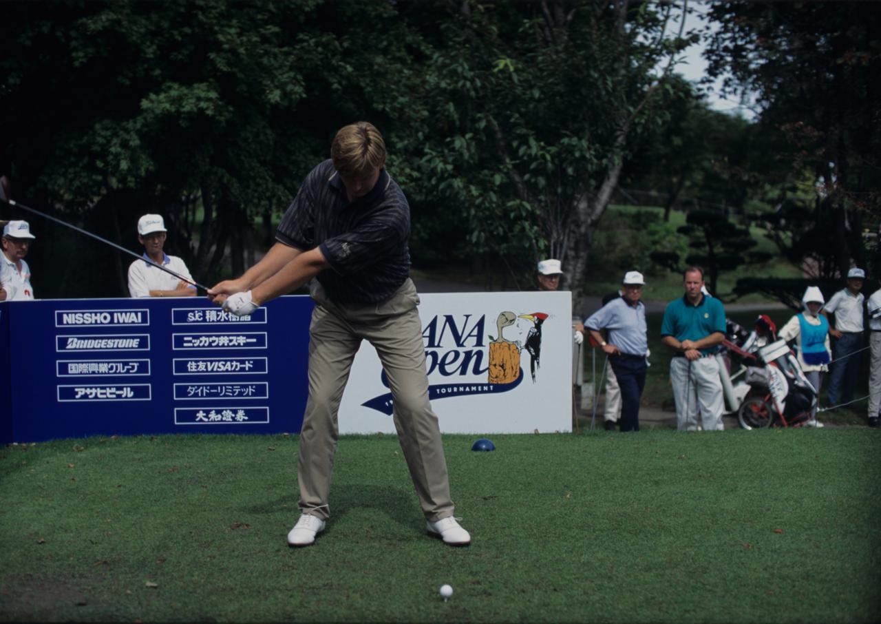 Images : 3番目の画像 - アーニー・エルスのドライバー連続写真 - みんなのゴルフダイジェスト