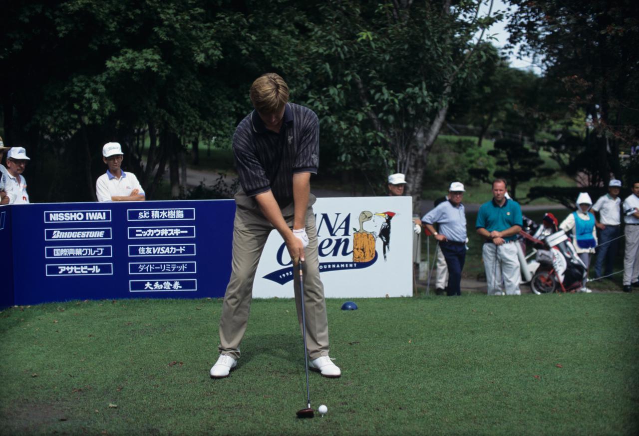 Images : 1番目の画像 - アーニー・エルスのドライバー連続写真 - みんなのゴルフダイジェスト
