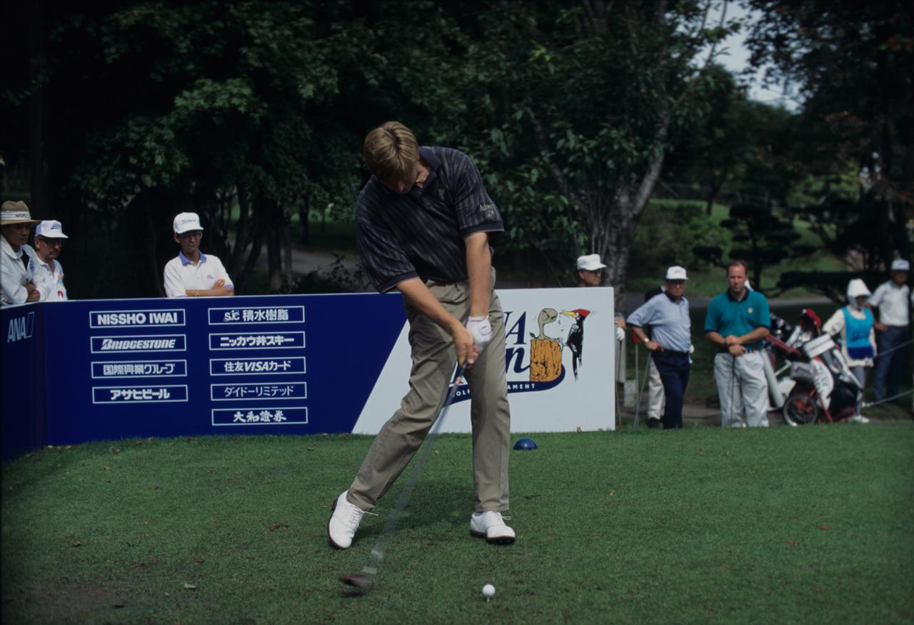 Images : 8番目の画像 - アーニー・エルスのドライバー連続写真 - みんなのゴルフダイジェスト