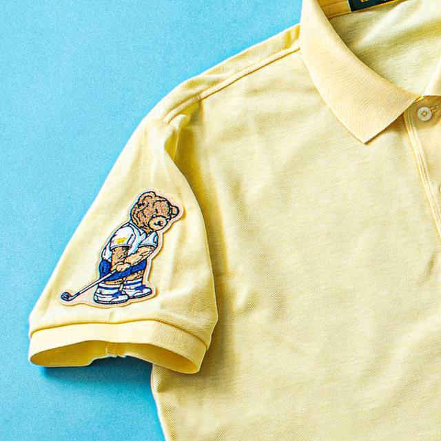 画像: 【金熊ワッペン付】ゴールデンベア日本製ポロシャツ-ゴルフダイジェスト公式通販サイト「ゴルフポケット」