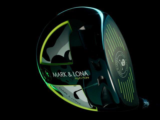 画像: エポンゴルフとマーク&ロナのコラボドライバー「M/L/E/P-G.O.D-W01」