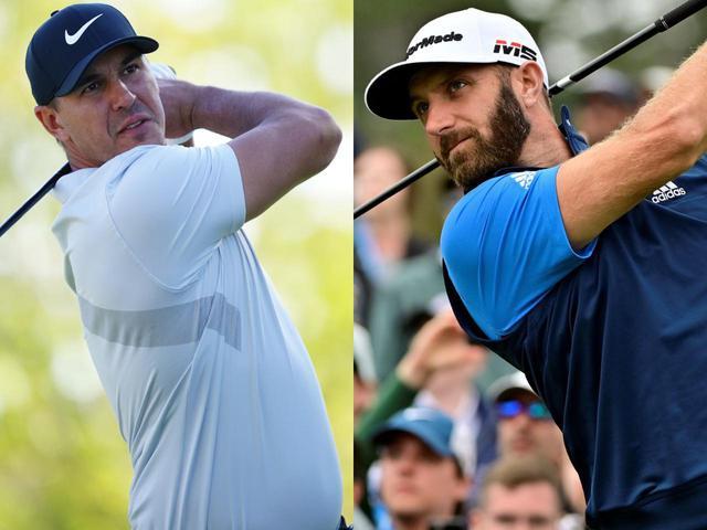 画像: 1年前の今日、全米プロゴルフ選手権の最終日。ブルックス・ケプカ(左)とダスティン・ジョンソン(右)が死闘を繰り広げていた