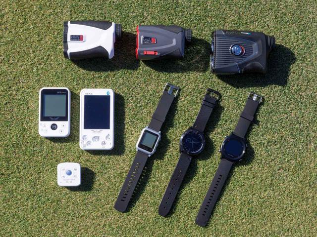 画像: レーザー式、GPS式など様々な距離計測器が発売されていて、中には高低差計測機能を搭載したモデルもある(写真はイメージ)