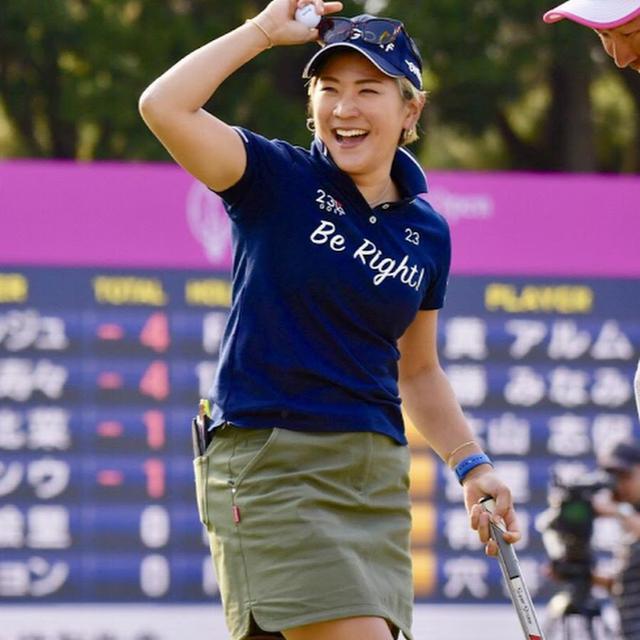 画像: 成田美寿々芝組ゴルフch