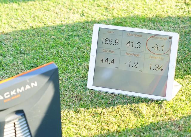 画像: ケプカが練習場で打った9番アイアンのトラックマンデータ。9.1度のダウンブローでキャリーは165.8ヤード。ヘッドスピードは41.3と、普通の男性ゴルファーのドライバー並の数値だ(写真は2017年ダンロップフェニックス)