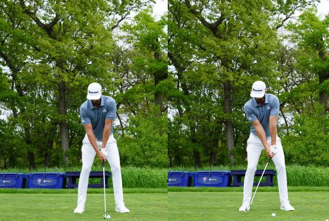 画像: 目標方向に手元を動かしてから指導するフォワードプレスを取り入れている(写真は2019年の全米プロゴルフ選手権 写真/姉崎正)