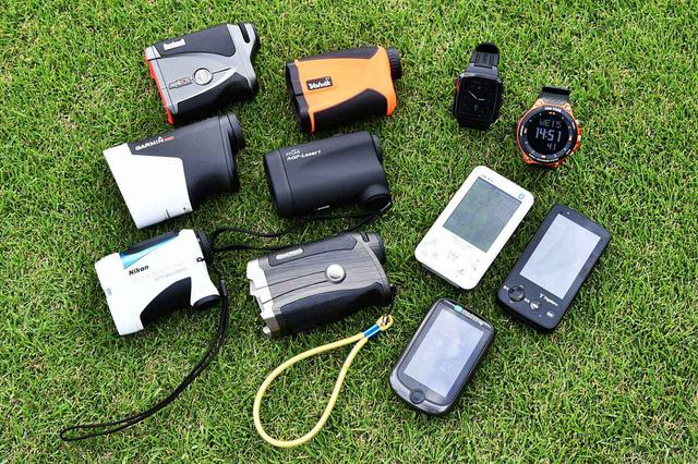 画像: 種類が豊富なゴルフ用距離計測器。あなたはなにを使っている?